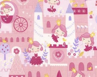 Timeless treasures Castle Princess patchwork fabric