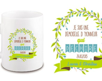 Maid of honor or other ceramic MUG.