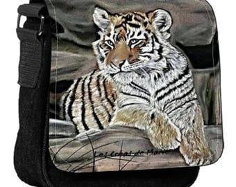 Bag pattern Tiger