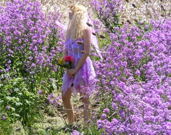 Purple Faerie Dress