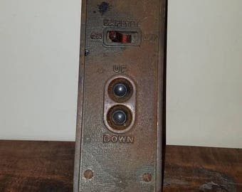 Vintage elevator control