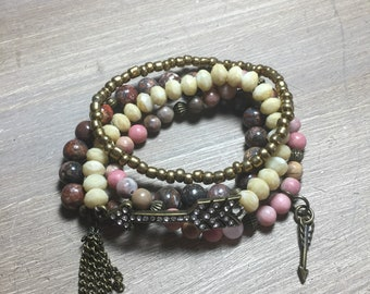 Handcrafted Stackable Bracelet Set