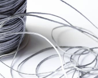 Wire Nylon braided gray 1.5 mm x 1 meter