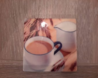 magnet ceramic chocolate and milk jug
