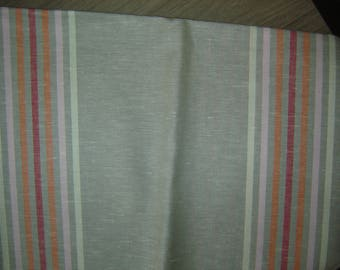 COUPON linen & cotton Twine has scratches / / 160 X 130 CM