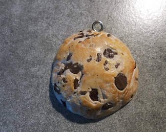 charm polymer clay chocolate chip cookies