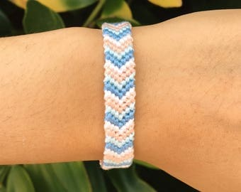 Chevron Friendship Bracelet: REEF