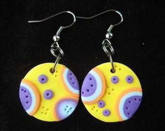 Spring pop earrings