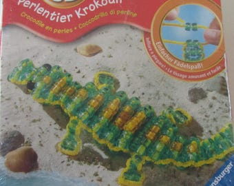 make your crocodile beads - 3D - for children from 6-12 years