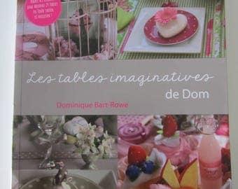 """Tables imaginative Dom - Decoattitude hobby book"