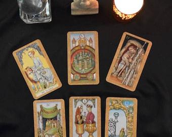 Six Card Tarot Reading