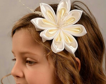 Touched Communion flower Satin