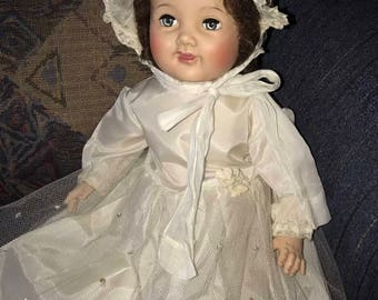 "American Character ""Chuckles"" Vintage 1950s Doll 23"""