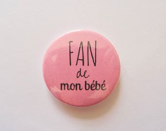 """My baby Fan"" magnets"