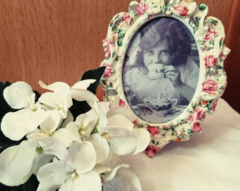 Time for tea vintage style Picture /Photo Frame