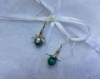 """""""Flora"""" earrings"""