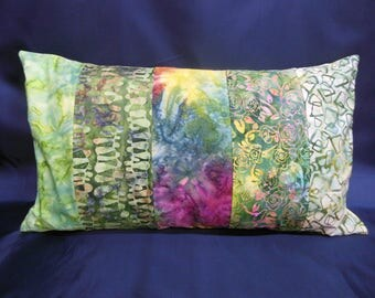 "Cushion collection ""Indian summer"", rectangle, 5 bands (C261)"