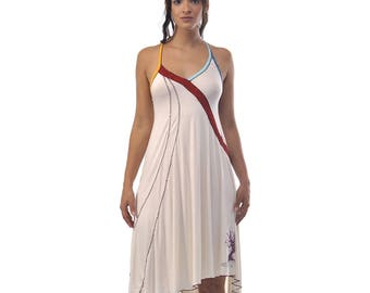"""Ethnic"" white dress and its under dress"