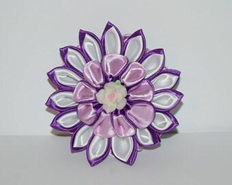 kanzashi - small hair clip + gift box