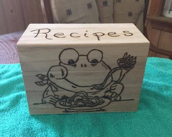 Recipe Box, Personalized gifts, House warming gifts, Wedding gift