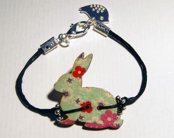Rabbit bracelet original wood