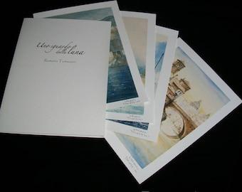 Fine art prints of watercolor magic-Italy Earthquake Aid