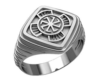 Colovrat Symbol Men's Ring Sterling Silver 925 SKU30305