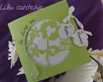 Make flowers, Orchid, nature theme wedding