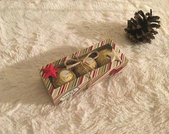 Box of Ferrero Rocher scrapbooking Christmas chocolates