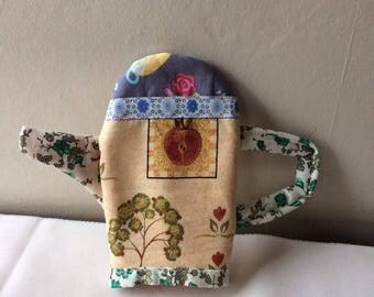 Fabric teapot - teapot tea party