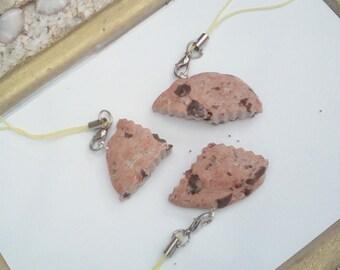 Trio cookies cookie phone jewelery realistic best friend