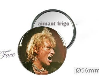 magnet magnet Johnny Hallyday sold with a Silver gift pouch
