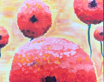 Sunset Blooms Painting