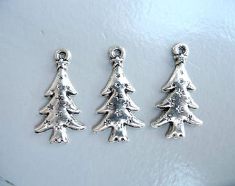 """""""Tree"""" nickel free silver plated charm"""