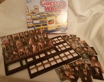 Harry Potter themed Guess Who Board game, Hermione Granger, Ron Weasley, Draco Malfoy, Dumbledore, Sirius, Minerva, Luna, Cedric, Snape