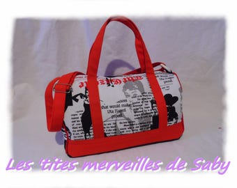 """Audrey company"" bowling bag"