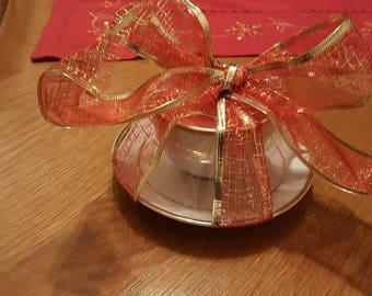 Tea cup candle wax/tea cup/