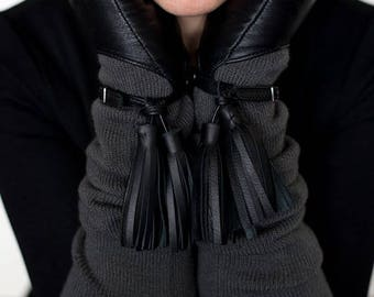 Women Gloves - Dark gray