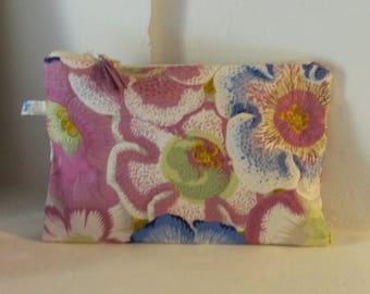 Bohemian floral pouch