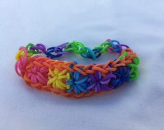 Multicolor Starburst Bracelet
