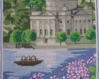 CADENABBIA, Lake Como edge embroidery