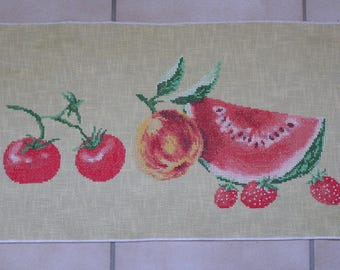 "Embroidery ""taste of summer"" cross stitch"