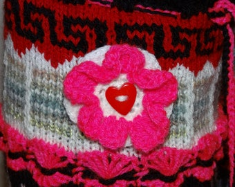 """Leg warmers PDF instructions knitted colorful leg warmers """"Pink Lady"""""""