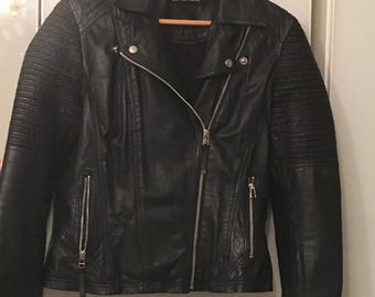 Ladies leather jacket size 12