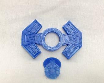 Star Wars/Starwars/Tie Fighter Fidget Spinner/3d printed/fidget toy/spinner toy/hand spinner/desk toy/fidget spinners/spinner fidgets