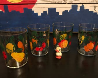 Vintage Juice Glasses