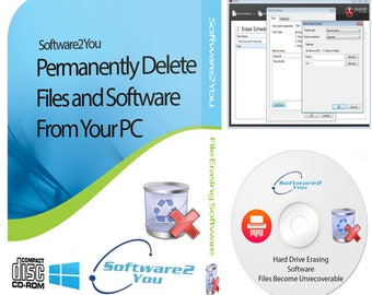 Erase Wipe Hard Drive Data Eraser Files Disk On Bootable CD