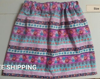 Striped Floral size 8