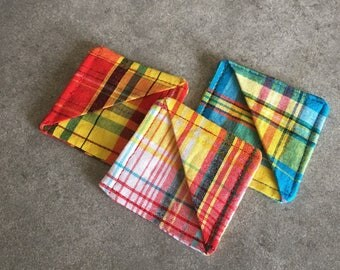 Set bookmarks fabrics madras