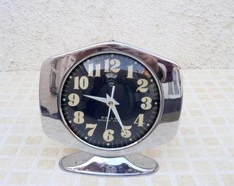 1970s old alarm clock mechanical movement